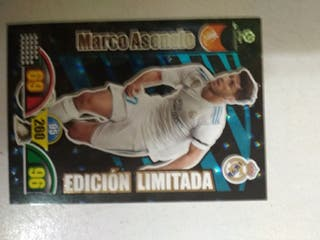Adrenalyn 2018. Marcos Asensio. edición limitada