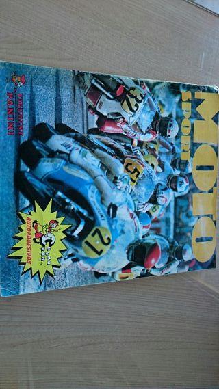 Álbum cromos MOTO SPORT
