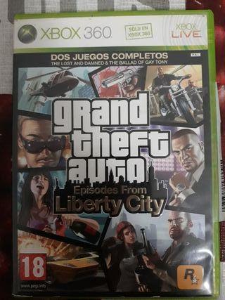 Gran Theft Auto para xbox360
