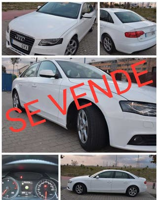 Audi A4 tdie 136cv blanco impecable