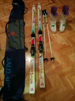 Equipo de Esquiar Fischer