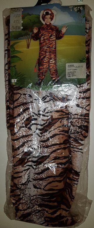 Disfraz Tigre Talla 5-6 años ¡SIN ESTRENAR!
