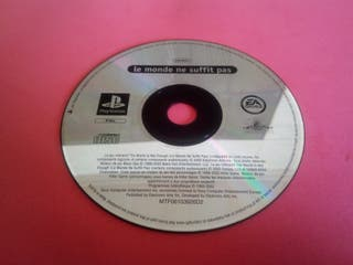 007 - The world is not enough PSX PlayStation