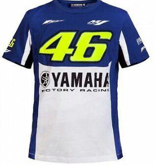 Camiseta Oficial Valentino Rossi Yamaha VR46