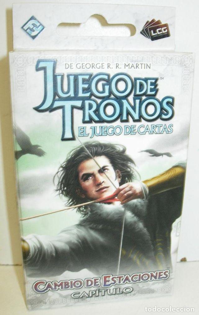 Juego de mesa: Juego de Trono LCG + 3 capítulos