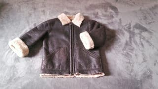 Abrigo piel niño