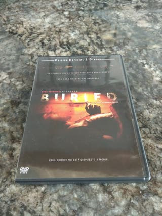 "Cine. DVD ""Buried"" ""Enterrado"""