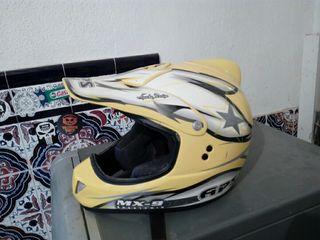 casco moto aps motocross..