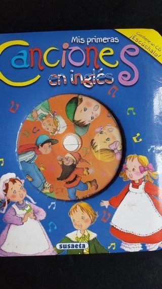 Mis primeras Canciones en ingles. Con CD