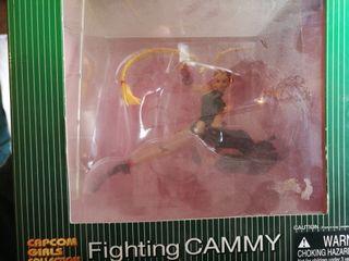figura capcom girls collection fighting cammy