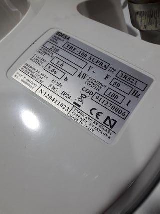 calentador electrico edesa
