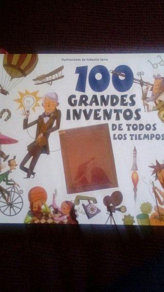 libro de lo 100 grandes inventos.