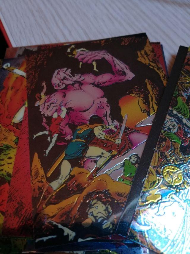 trading cards Conan