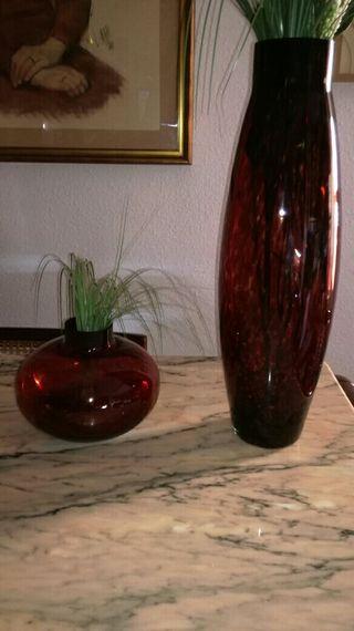 Conjunto floreros La Mediterránea rebajado