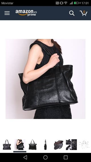 Bolso nuevo Cuero negro