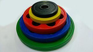 discos pesas olimpicos