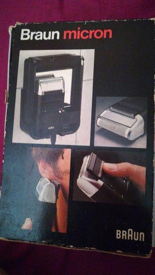 máquina de afeitar año 1979