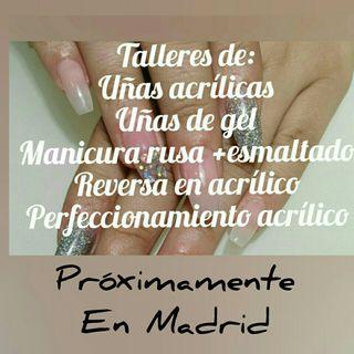curso de uñas en Madrid. 10 marzo