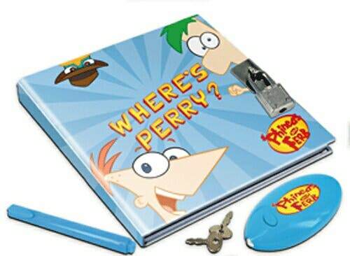 Diario secreto Phineas y Ferb