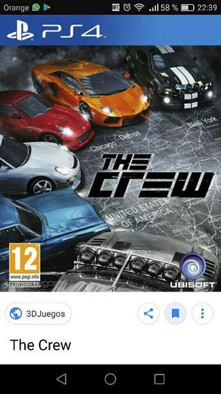 Juego The Cew PS4