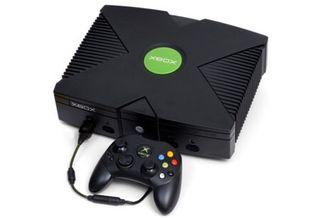 Consola xbox negra clasic