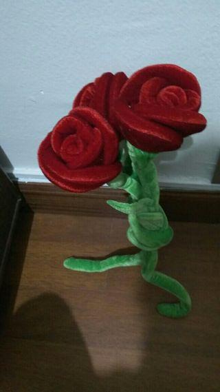 rosas peluche