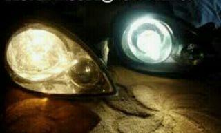 bombillas efecto blancas / xenon h7