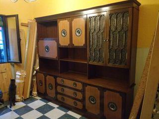 Mueble alacena vintage de segunda mano por 100 en madrid for Wallapop madrid muebles