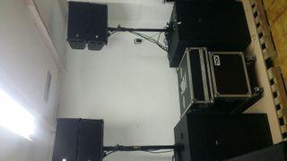 equipo sonido line array