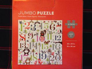 Puzzle Gigante Numeros 2+