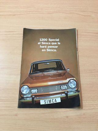 Catalogo Simca 1200