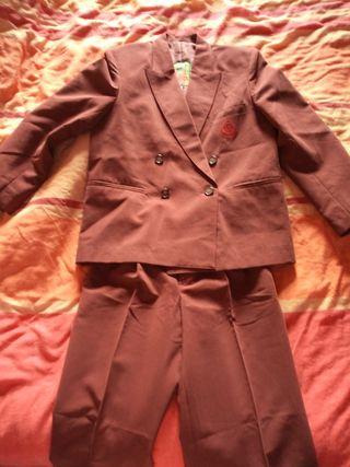 Traje chaqueta niño ceremonia SIN USAR