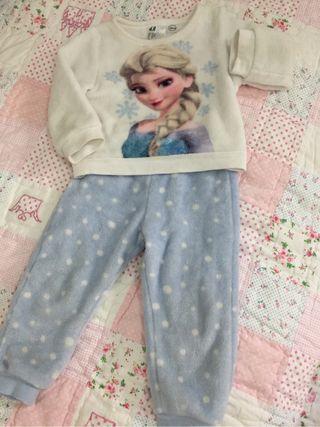 Pijama polar FROZEN