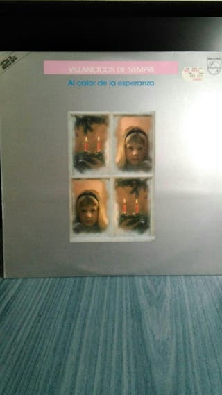 Disco 2 LP vinilo VILLANCICOS DE SIEMPRE