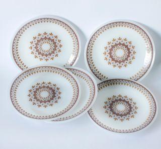 5 platos de postre Arcopal, Spain. Originales.