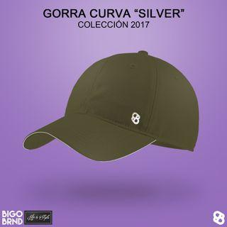 Gorra curva Silver verde oliva BIGO BRND