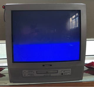 "21"" CRT TV with DVD and USB adaptor"