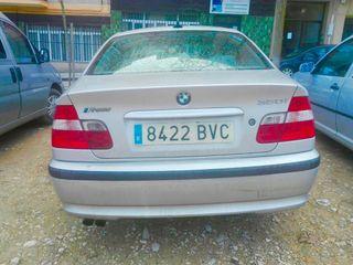 BMW Serie 3 2001 170cv 6 cilindros plata coche