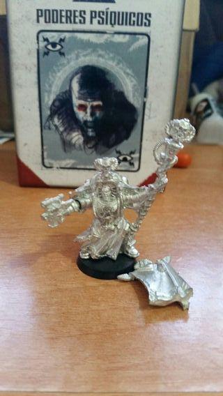 Miniatura Bibliotecario jefe Tigurius warhammer 40