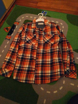 camisa zara 8:años