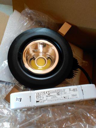 Iluminacion Whitecroft para techo emp 22w LED