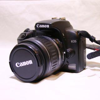 Cámara digital réflex Canon Eos 1000D