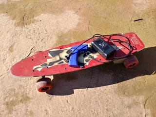 Longboard eléctrico 800w