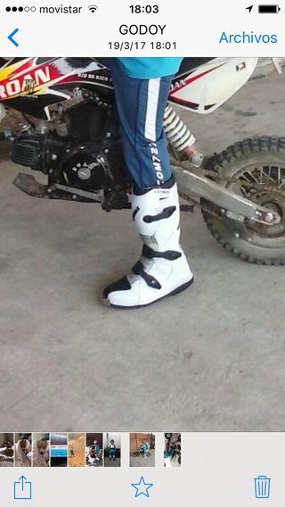 Botas moto