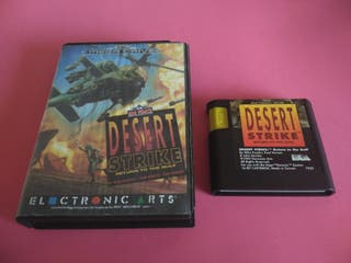 Desert Strike SEGA Mega Drive MD
