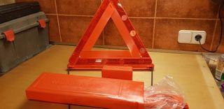 Triángulos para coche