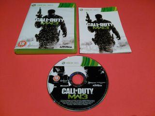 Call of Duty - Modern Warfare 3 MW3 XBOX 360