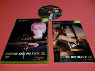 Dead or Alive 3 XBOX JAP