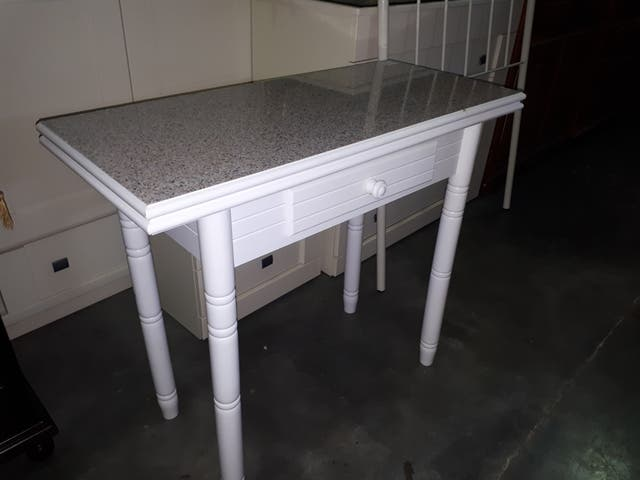 Mesa cocina abatible de segunda mano por 70 en osuna en - Mesa abatible cocina ...