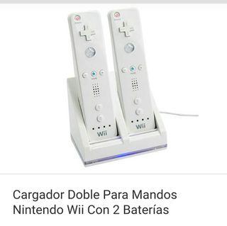 cargador mandos de wii